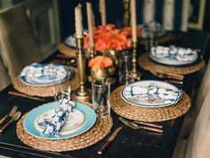 Something Old + Something New - Create a Vintage-Style, Mismatched Tablescape on HGTV