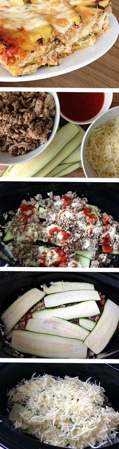 Slow Cooker Zucchini Lasagna Recipe