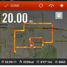 My Run this morning!