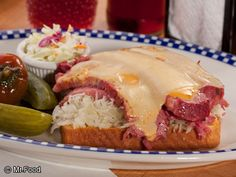 The Ultimate Reuben - Classic corned beef sandwich--only takes 1 minute to cook!