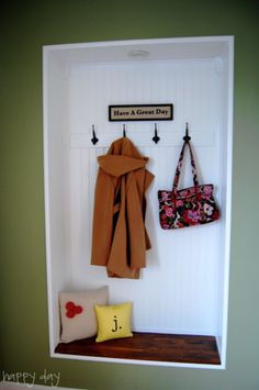 Another great way to create a launch pad for the family! Carve out a little niche between the studs! AWESOME!