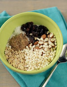 DIY Gluten Free Cereal