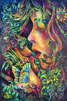 hippie art images   Pinned by Madeleine Kennedy