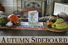 Minerva's Garden:  Autumn Sideboard 2013