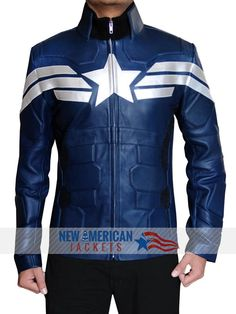 """"""" The Winter Soldier Captain America Jacket is available on discount Price with Easy Exchangeable and Refundable guarantee. Grab Here » newamericanjackets """""""