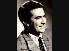 """Giuseppe di Stefano """"Ideale"""" Tosti 1945 - YouTube"""