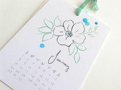 #diy calendar