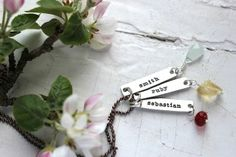 Fresh Cut Birthstone Necklace from Lisa Leonard Designs