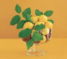 Lemon centerpiece