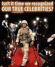 Let Us Roll out the Red Carpet for the real Heroes.