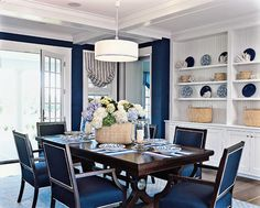 Navy And White Design Ideas, Pictures, Remodel and Decor
