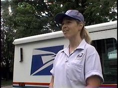 ▶ A Day In The Life of a Mail Carrier - YouTube  -Repinned by Totetude.com