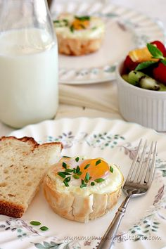Baked Spinach and Eggs in Fillo Cups.