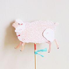DIY Paper Puppet - SHEEP.