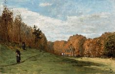 Woodgatherers at the Edge of the Forest, Claude Monet