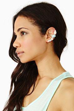 I Want Candy Ear Cuff