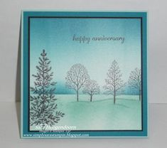 Lovely as a Tree - Winter Anniversary