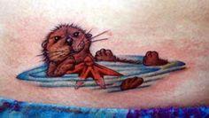 otter tattoo | Tattoos  Jeffrey Tarinelli  Page 1  Cute Otter Tattoo