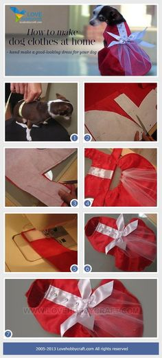 how to  make dog clothes at home