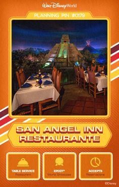 Walt Disney World Planning Pins: San Angel Inn Restaurante