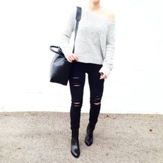Alexander Wang Anouck Boots and Satchel. Styled by @fashionably.fit