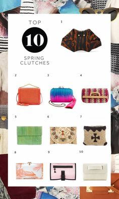 Top 10 Spring Clutches