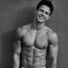 Classic-pretty sure this is the Calvin Klein Underwear add.  As I used to walk into work everyday when I worked in retail and blow him a kiss.  Kinda hard to forget that add!
