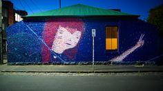peace mural by ghostpatrol