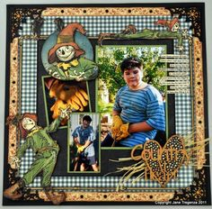 Loving these Oz layouts by @Jane Izard Izard Izard Tregenza on our blog. Makes us feel like fall!