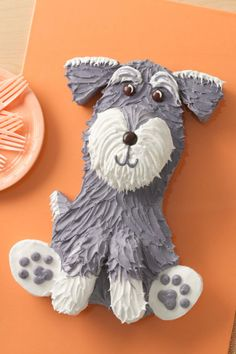 Schnauzer fans will delight in this sweet treat for Pet Appreciation Week!