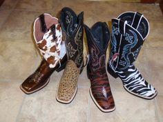 """Western """"Wild"""" Boots"""
