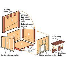 Free Plan How To Build A Dog House Anim