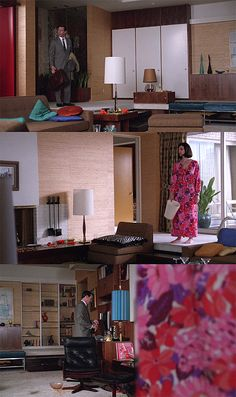 So we're loving Don Draper's new apartment, yes?