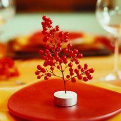 28 festive winter arrangements   Mini berry bouquet   Sunset.com