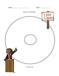 Martin Luther King Jr. Circle Map
