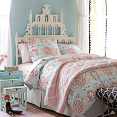 Annabel Duvet for Girls Rooms   Serena & Lily