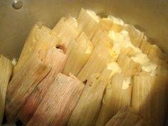 Receta de masa para los  tamales comida mexicana Parte 4