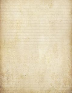 """Digitally distressed, or """"antiqued"""" sheet of lined paper ~ free printable (8.5"""" x 11"""")"""