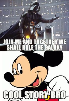 Star Wars + Disney Mashups