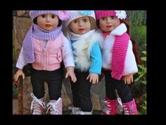 American Girl Fashion Show. 18 inch Dolls by Harmony Club Dolls.