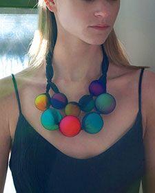 Big Ball Necklace - Martha Stewart Crafts