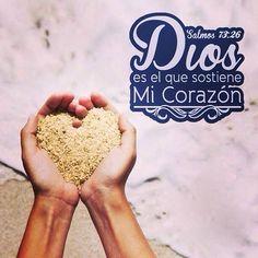 Dios es el que sostiene mi corazón
