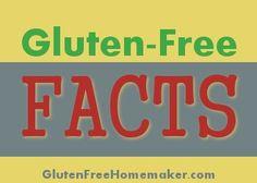 5 Gluten Free Facts