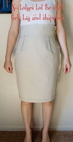 pencil skirt fitting, tons of other great tips for sewing