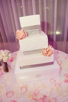 Hollywood Glam Wedding Wedding Cakes Photos on WeddingWire