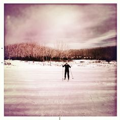Lake Mountain X-Country Skiing