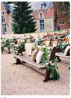 Vines instead of leaves | wedding ceremony seating arrangement #wedding #ceremony