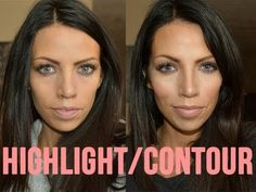 How to Highlight & Contour like a PRO! This is a fantastic how-to video. Explains it well. It's 13 minutes long but worth it if you're interested in this technique.
