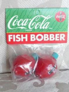 Coca Cola fish bobber