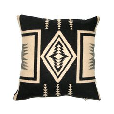 wool throw pillow